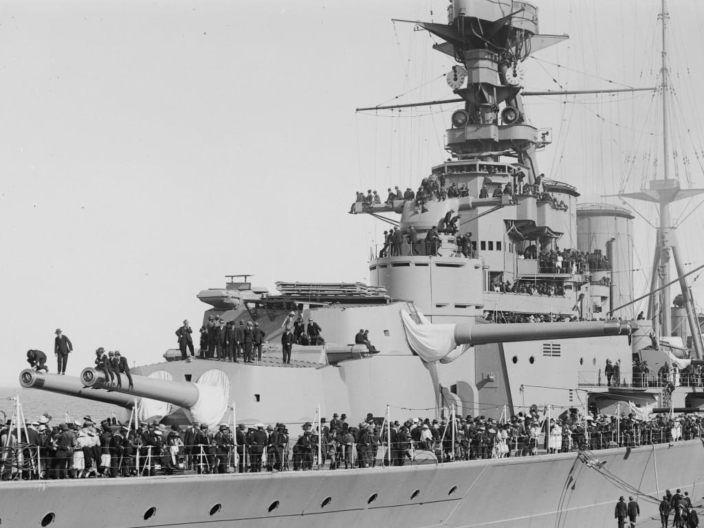 HMS HOOD - open house day