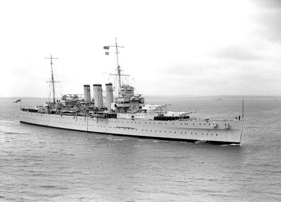 HMS Shropshire