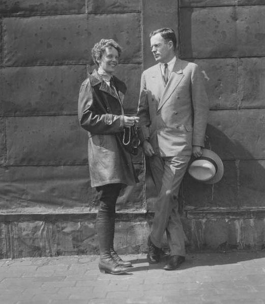 AE and GP Boston 1928 preflight