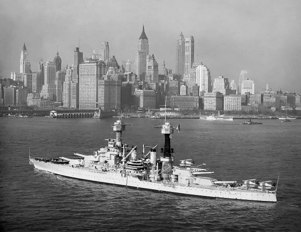 USS Colorado (BB-45), New York City, 1932