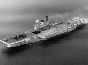 HMS Victorious (R38) - aerial 1959