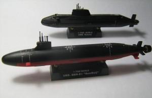 USS Seawolf (SSN-21) and HMS Astute 004