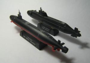 USS Seawolf (SSN-21) and HMS Astute 007