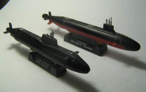 USS Seawolf (SSN-21) and HMS Astute 010