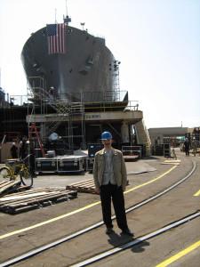 5 апреля 2008 г., Сан-Диего, верфь NASSCO