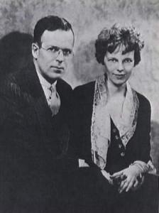 Джордж Путнам и Амелия Эрхарт, 1931