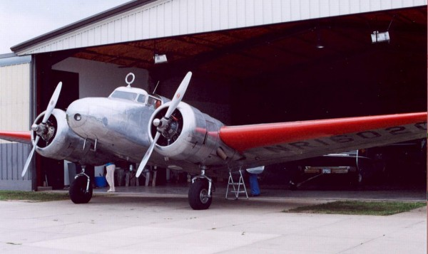 Electra in AE Airport in Atchison - 12