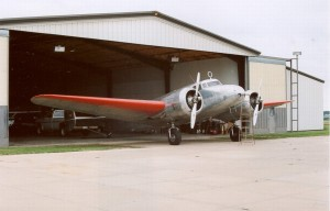 Electra in AE Airport in Atchison - 22