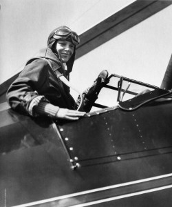 АЭ в кабине автожира Питкэрна - 8 апреля 1931 г.