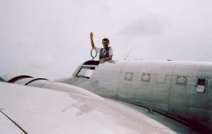 Alex Mandel in Electra July 23 2004