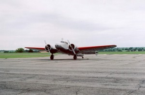 Electra in AE Airport in Atchison - 2