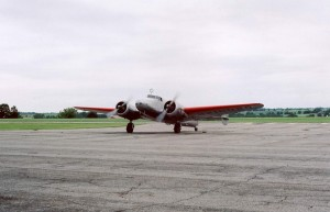 Electra in AE Airport in Atchison - 3