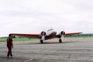Electra in AE Airport in Atchison - 4