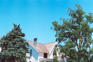 July 25 2004 Electra over AEs house