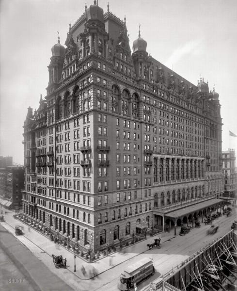 1902 г - старый отель Waldorf-Astoria