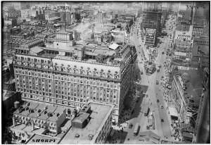 Hotel Astor на Times Square, фото 1916 года