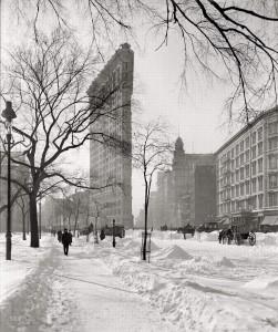 1905 год. Flatiron Building - 1