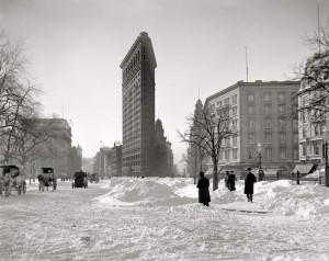 1905 год. Flatiron Building - 2