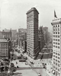 Флэт-Айрон Билдинг в 1912г