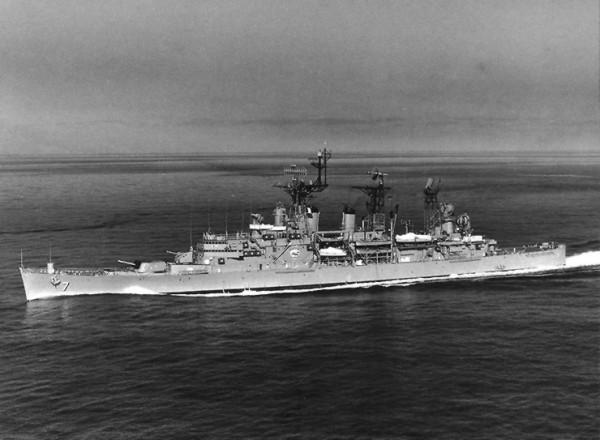 USS_Springfield_(CLG-7)_underway