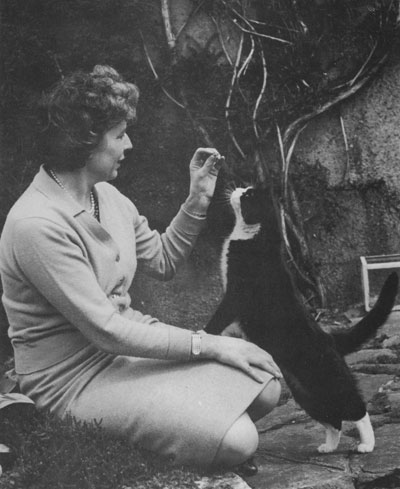 Mary Stewart & Cat