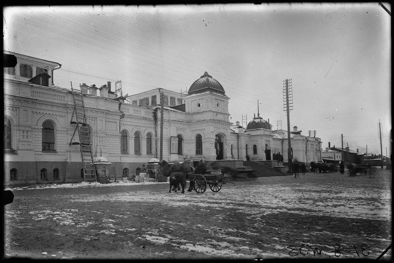 Омский железнодорожный вокзал 20-е