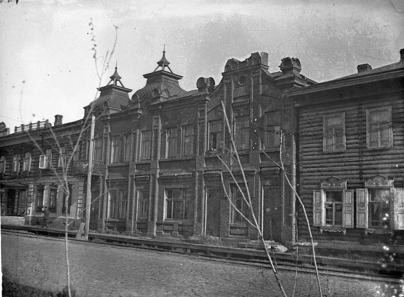 Дом Сорокиных. Улица Лермонтова, 28а 1920-е