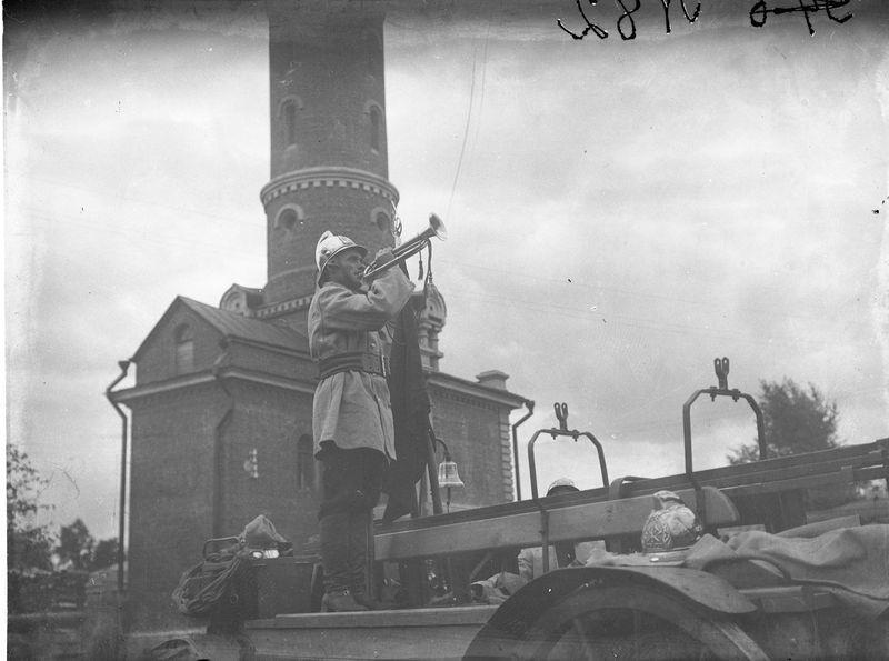 Омские пожарные. 1920-е.