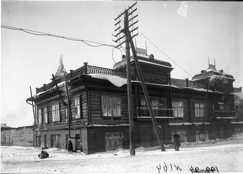 Здание заводоуправления Сибзавода 1925-30