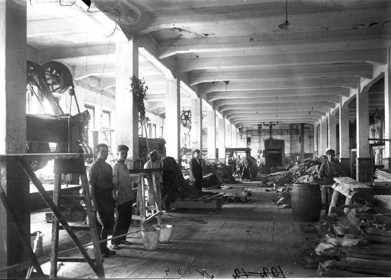В цехе Омского государственного кожевенного завода 1925-30 1