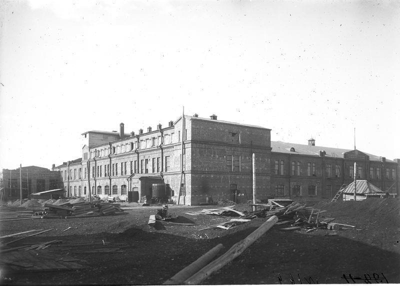 Здание Омского государственного кожевенного завода 1925-30