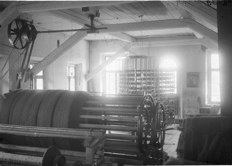 Омская суконная фабрика. Станок 1925-30 1