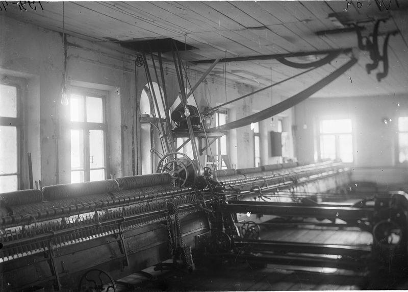 Омская суконная фабрика. Станок 1925-30