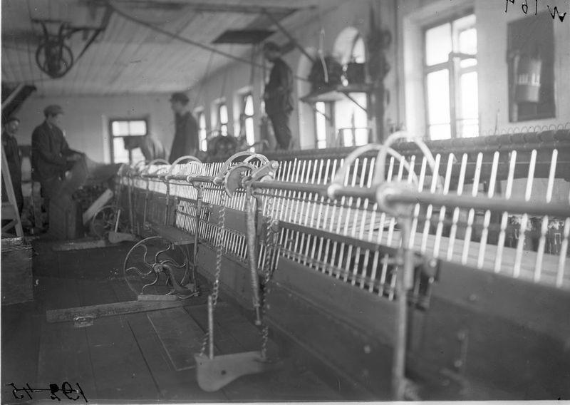Станки суконной фабрики, 1925-30