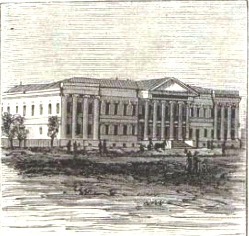 Здание военной гимназии С.114