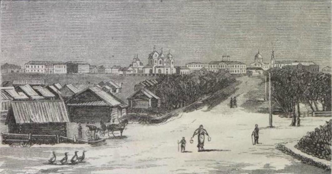 Вид южной стороны Омска С.111