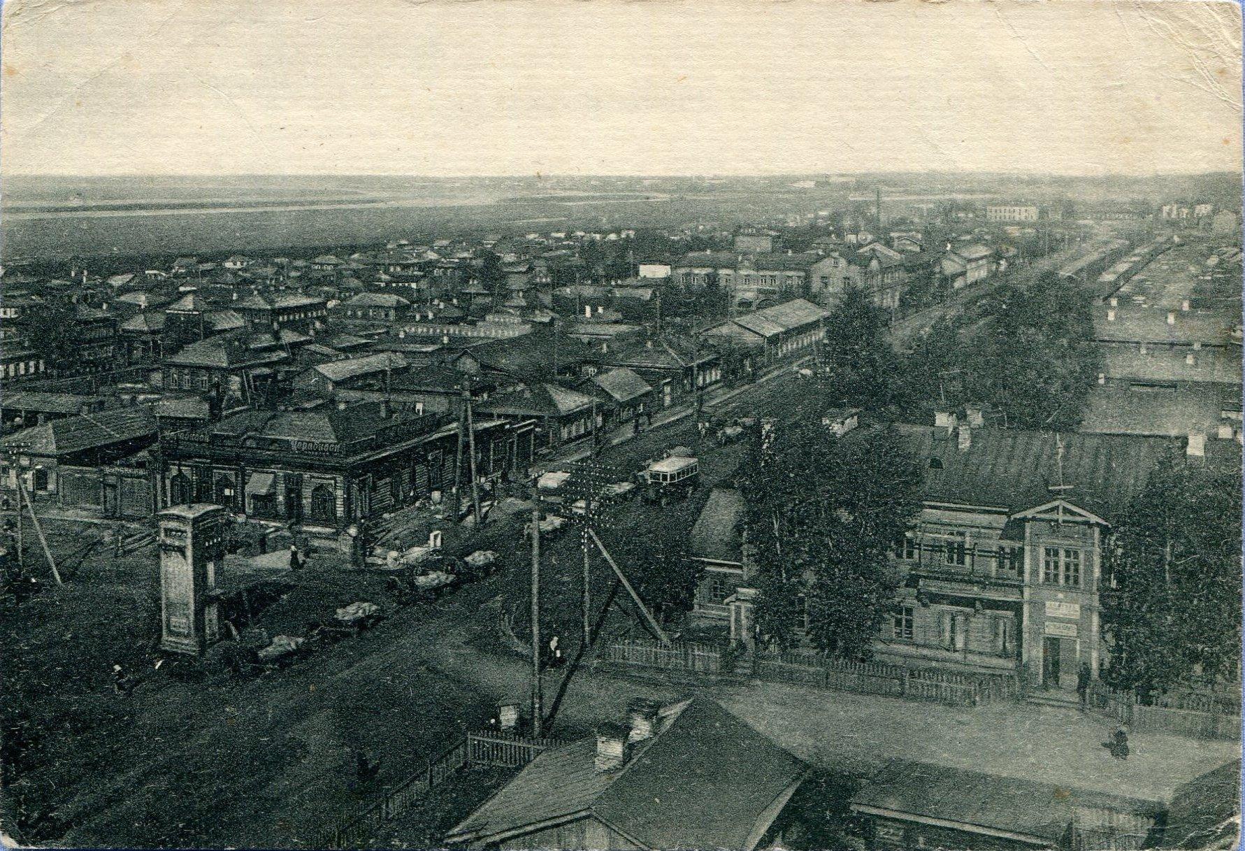 21 Омск (Ленинск-Омский) вид с высоты