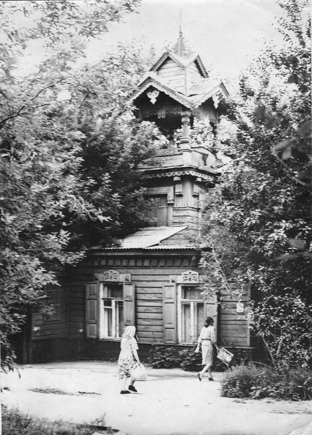 Омск, Дом Штумпфа, Омский музей Кондратия Белова, 1982 г.