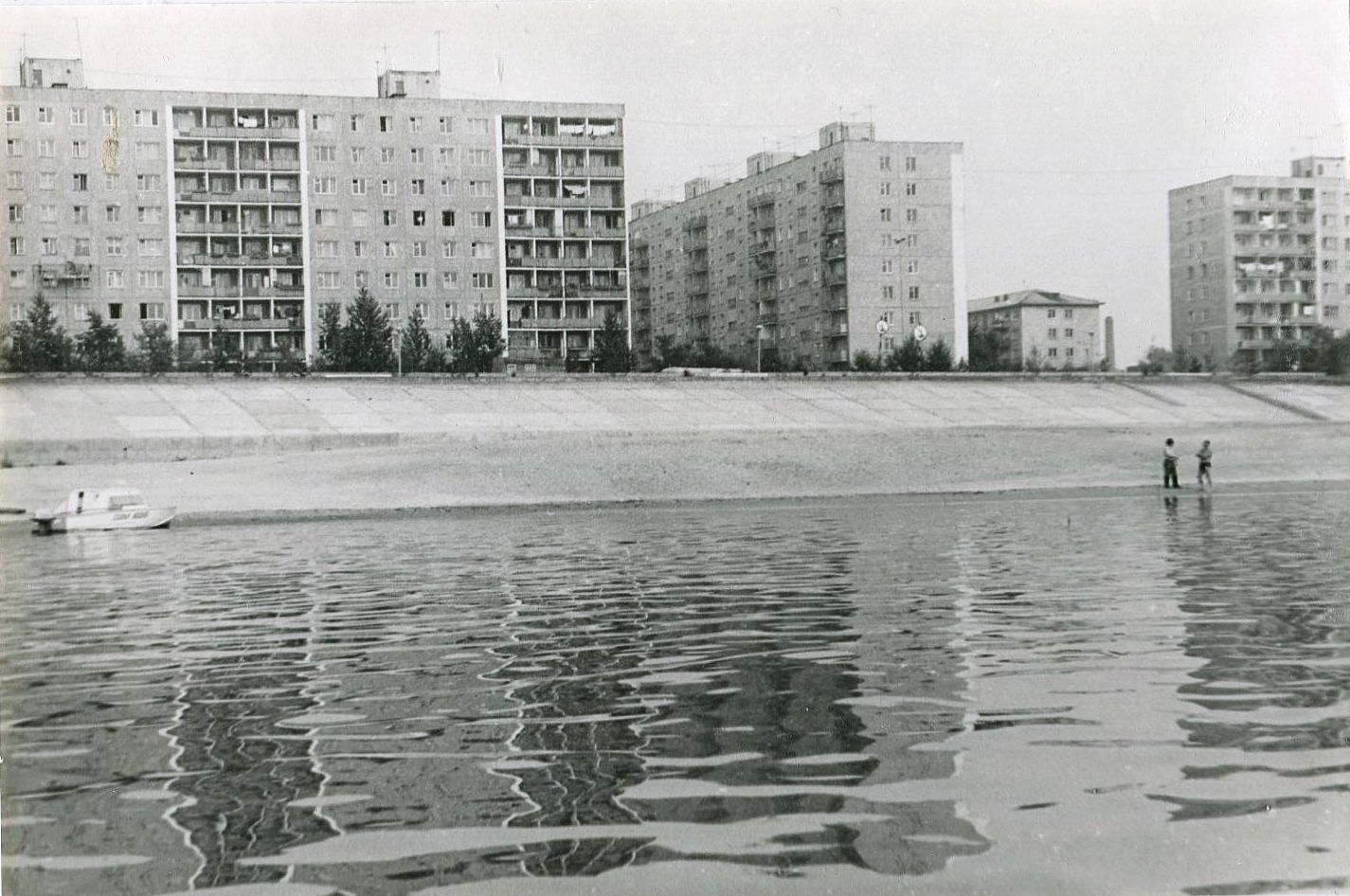 Омск, набережная Иртыша. 1988 г.