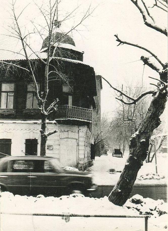 Омск, ул. Орджоникидзе. 1988 г.