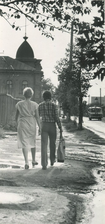 Омск,ул. 10 лет Октября. 1982 г.