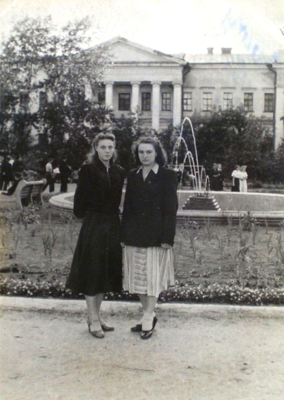фонтан горсад 1953