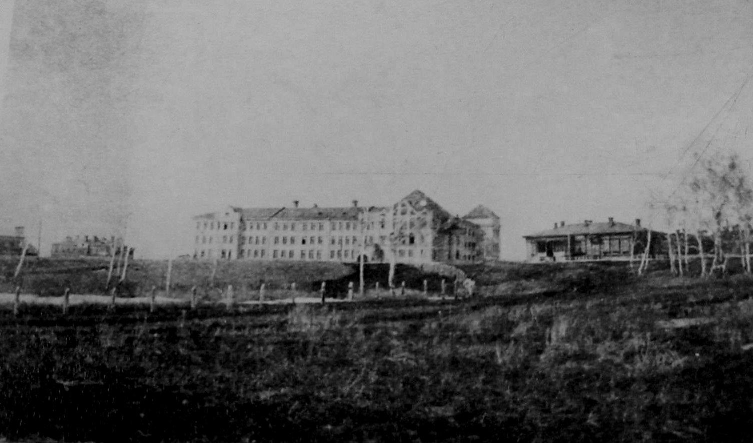 Главный Корпус ОмСХИ, 1925 г.