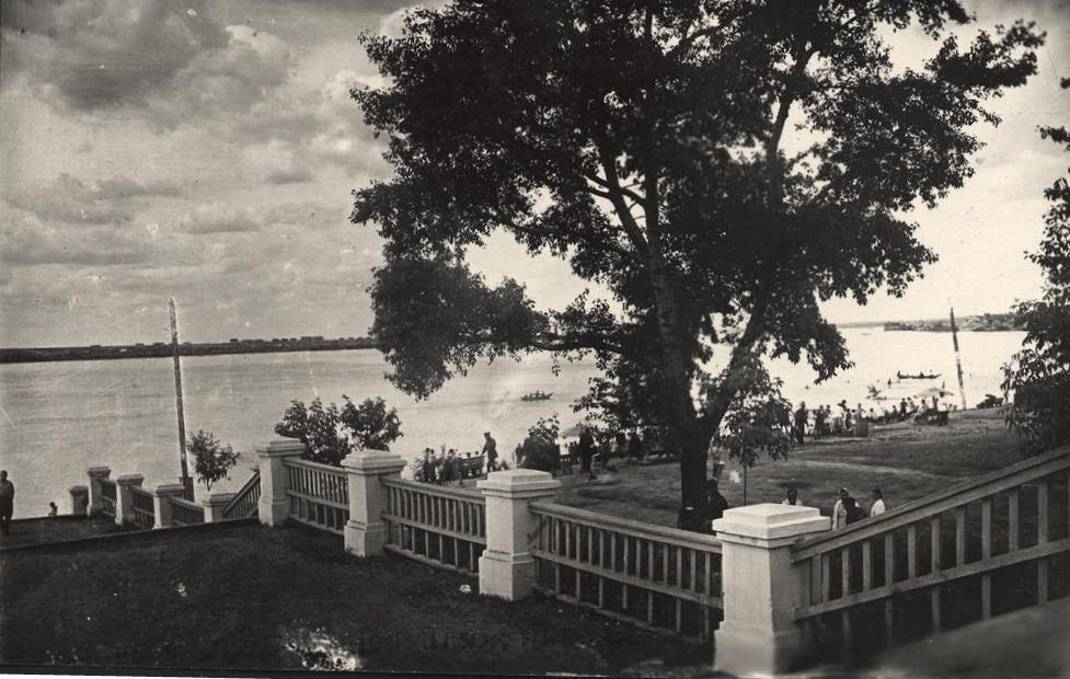 выход на пляж 1945-50