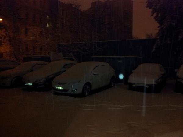 Москва, утро 28 октября 2012