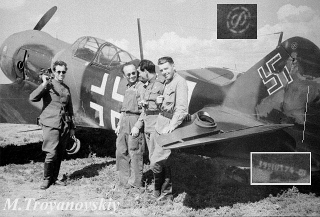 Troyanovskiy, 1943, La-5F