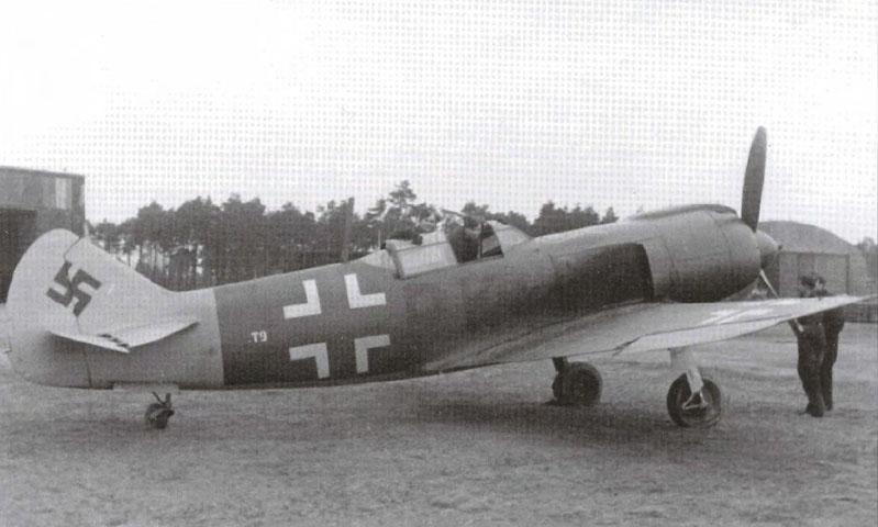 Вопросы истории - Фотозагадка из 1943: Luftwaffe La-5 (немецкий Ла-