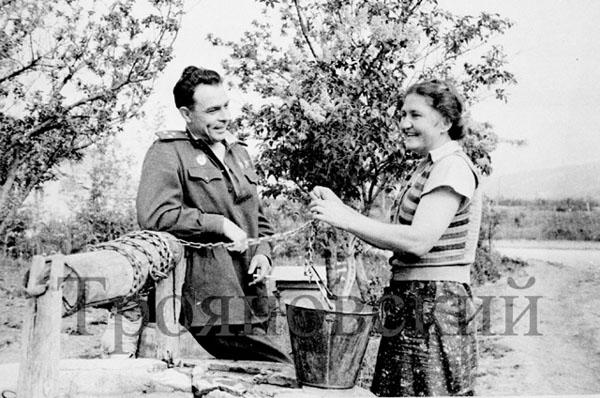 Л.Брежнев, 1943 г., М.Трояновский
