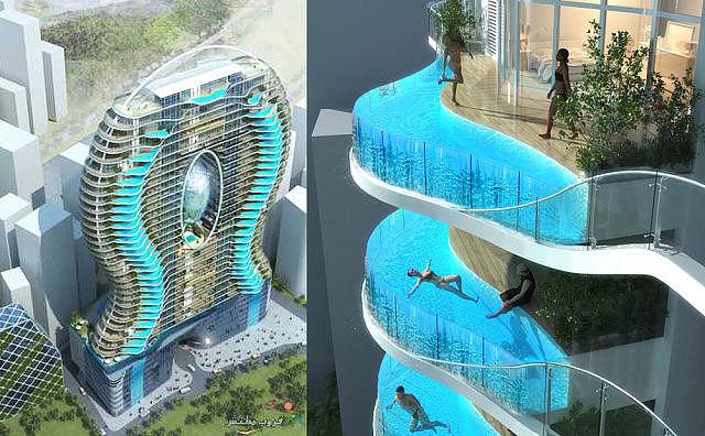 отель в мумбаи с бассейном в каждом номере