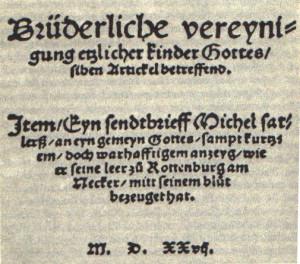 Titelseite_Schleitheimer_Artikel